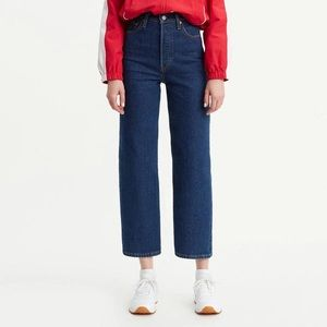 Levi's Ribcage Ankle Jeans in Life's Work